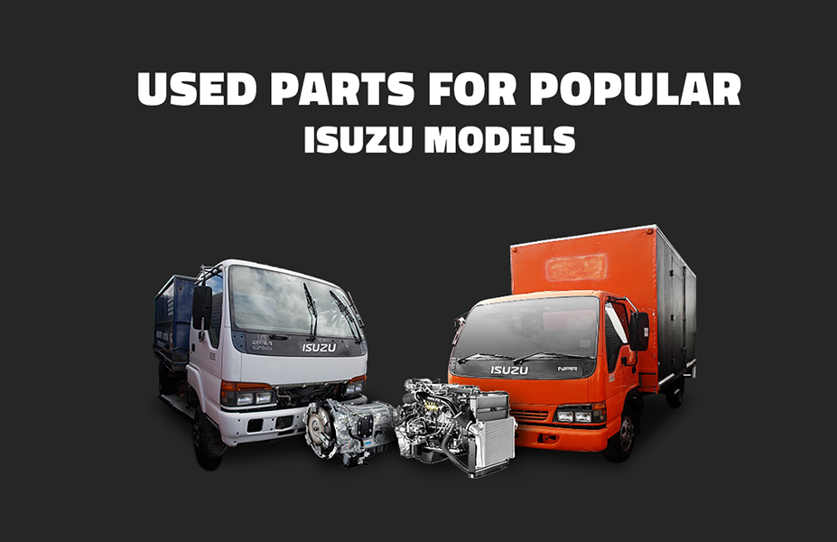 Huge Selection of Used Parts Available at justisuzu wrecking